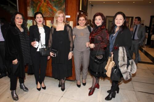 Μ. Κτιστοπούλου, Ε. Δουφεξή, Νάντια Μπαράκου, Σοφία Χίντιζου, Α. Πατσουράκη, Μάγδα Κούρκουλου