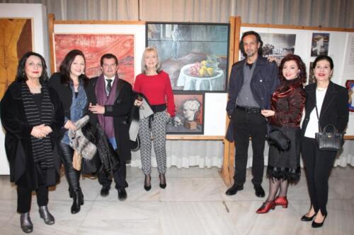 Μ. Κτιστοπούλου, Μ. Κούρκουλου, Κ. Ευαγγελάτος,Εύα Διβάρη, Αδριανός, Αννίτα Πατσουράκη, Εβίτα Κανέλλου Δουφεξή
